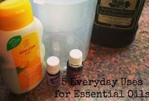Essential Oils / by Serving From Home