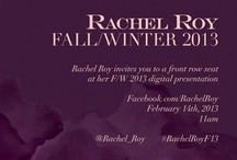 Rachel Roy Fall/Winter 2013 Collection / by Rachel Roy
