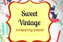 Vintage Wrapping Paper / by Marlo Brown