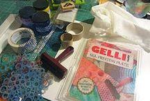 Gelli Printing / by Marlo Brown