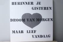 Teksten / by Ada Heegen