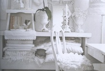 Cottage, Shabby Chic and White Decor / by Debbie Booth
