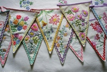 What to do with old doilies, laces and embroideries / by Evelina Strandfeldt