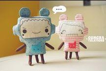 Puppen & Art Toys / by Güzel