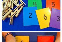 Maths ideas and number fun! / by Julie Barnden
