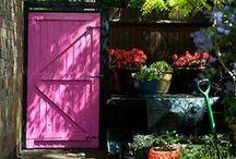 Garden Doors, Gates, Arbors, please enter in! / by Pat Kossler