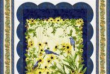 Bluebird by Chong-a Hwang / by Timeless Treasures Fabrics