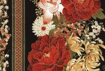 Imperial Garden by Chong-a-Hwang / by Timeless Treasures Fabrics