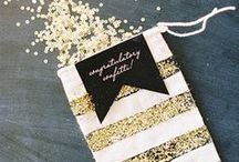 Glittery Gold / by anna and blue paperie