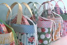 Bag it....Totes, not paper or plastic! / Totes, coin purses, purse organizers  / by Robin Nieto