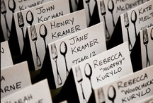 Escort Cards / by Luxe Event Productions