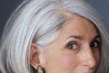 Silver hair kinda gal / by Nancy Bartell