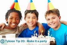 Tykoon Tips / Kid's financial literacy tips from Tykoon / by Tykoon