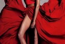 lady in red ~ / by Loretta Cohen