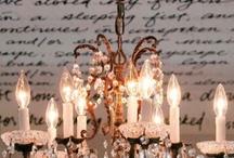 chandeliers ~ / by Loretta Cohen