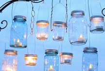 Glass and Mason Jar Ideas / by Denise Williams