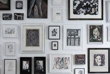 Interiors-art walls / by Kyra Williams