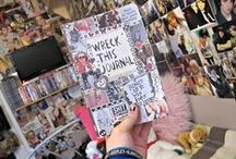 Wreck This Journal✿ / Ideas for my Wreck This Journal♥ / by Erin Thurber