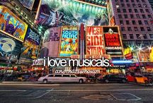 Musicals❥ / by Erin Thurber