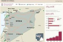 Syria infographics / by Visual Loop