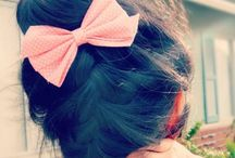 All things girly. / With do it yourself ideas. Who knew? (Hair & Makeup included).  / by Marissa Garcia