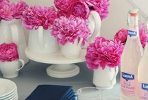 Pink and Navy Party Inspiration / by Rachel - Haute Chocolate