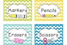 Education: Classroom things / by Amy Jo Summers