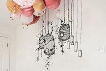 Paper lanterns / by BohèmeCircus ♡