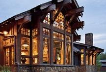Cabin & Lake Fever / Home ideas for cabin living or for lake living. / by Jodi Palmer