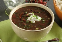 Soups and Salads / Soups to soothe the soul and salads to satisfy your lighter side. / by Amy Van Cleave