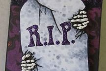 CARDS-Halloween / My favorite cards to make, especially the creepy and spooky ones! / by C R S