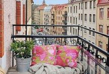 Design Ideas - Outdoor Living Spaces / by Abigail Hall