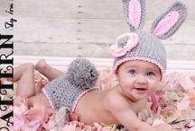 Crochet - Hats - Preemie, Baby, Newborn  / by Ellen Sadove Renck