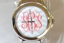 Monogrammed / Of course I have a monogram board because I'm southern! c: / by Emily Burkhalter