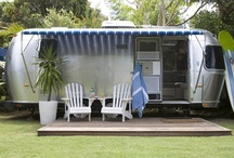 Airstream Renovation Inspiration / Inspiring the slowly ongoing renovation of a 1962 Airstream Overlander.    Functional considerations first.  Bonus points for maximum efficiency in space usage and creative small living solutions. / by Matt Smith