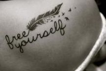 Tattoos and peircings / by Savannah Molina