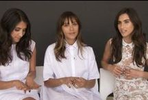 #finebydannijones / Fine jewelry collaboration between designers Danielle and Jodie Snyder and actress/model/superwoman Rashida Jones #dannijones #finebydannijones  / by DANNIJO