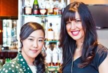 Yuna Yang at HTC Lounge Media HQ for Fashion Week / by Mandarin Oriental, New York City