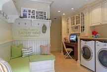 Laundry room / Clean clean clean  / by Courteneay Decker
