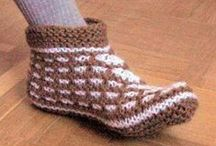 1::Crochet&Knit<<>>Slipers,Socks,Legwarmers For Adult / by Irena Popovic