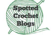 Crochet | Spotted Blogs / Crochet bloggers to check out and follow #crochet #blogs / by Sara - Momwithahook