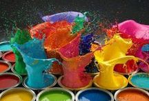 """All About Color / """"Color is my day-long obsession, joy and torment."""" - Claude Monet / by Rebecca Bautista"""
