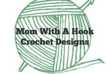 Momwithahook Crochet Patterns /  #crafts #crochet #patterns to make for gifts, charity and selling momwithahook.crochetbusiness.com / by Sara - Momwithahook
