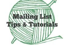 Mailing List Tutorials / Tips and tutorials on mailing lists #email #marketing  / by Sara - Momwithahook
