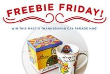 Freebie Friday Giveaways / This is a board to announce our Freebie Friday giveaway contests. / by Rosanna Inc.