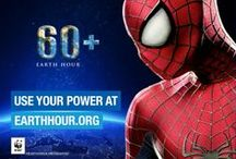 Earth Hour / The Amazing Spider-Man is the first superhero ambassador for Earth Hour in an effort to save the planet. / by The Amazing Spider-Man 2