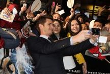 TASM2 Paris Premiere / Andrew Garfield, Emma Stone, Jamie Foxx, Dane DeHaan and the rest of the cast have fun with fans on the red carpet for the premiere of The Amazing Spider-Man 2 in Paris! / by The Amazing Spider-Man 2