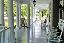 come & sit a spell ~ porches / by Lauren Adair Cooper