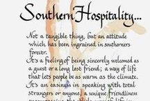 southern hospitality / by Lauren Adair Cooper