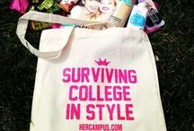 Surviving College in Style / Windsor's Picks: Everything You Need to Survive College This Fall / by Her Campus